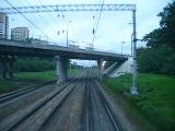 Одинцово — Москва из окна машиниста электровоза
